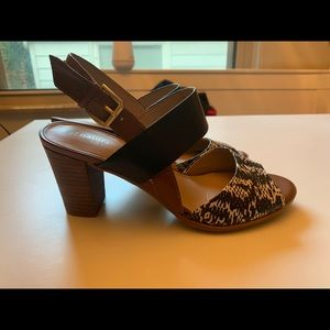 Naturalizer Shoes - Naturalized size 8.5 animal print sling back heels